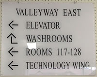 Indoor Signage From Mcgee Marking Devices